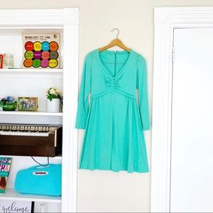60s Mint Babydoll Dress